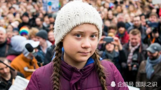 16岁少女被提名诺贝尔和平奖 推动关注全球变暖