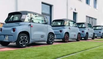 Essai de la voiture électrique Citroën Ami