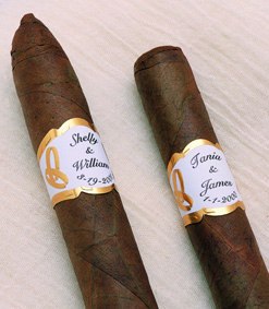 Wedding Cigars PersonalizedOccasional Cigars  Personalized Wedding Cigars