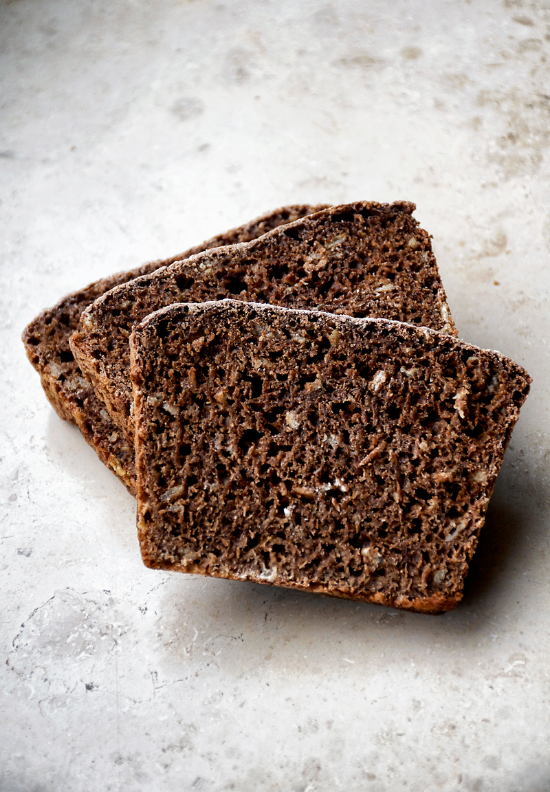 Easy Overnight Dark Rye Bread Occasionally Eggs