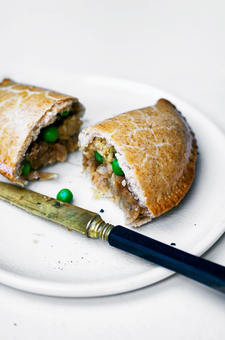 Leek and Caramelized Onion Pasties
