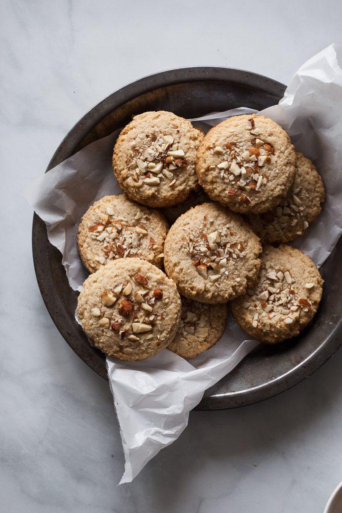Vegan Gluten-free Maple Almond Cookies