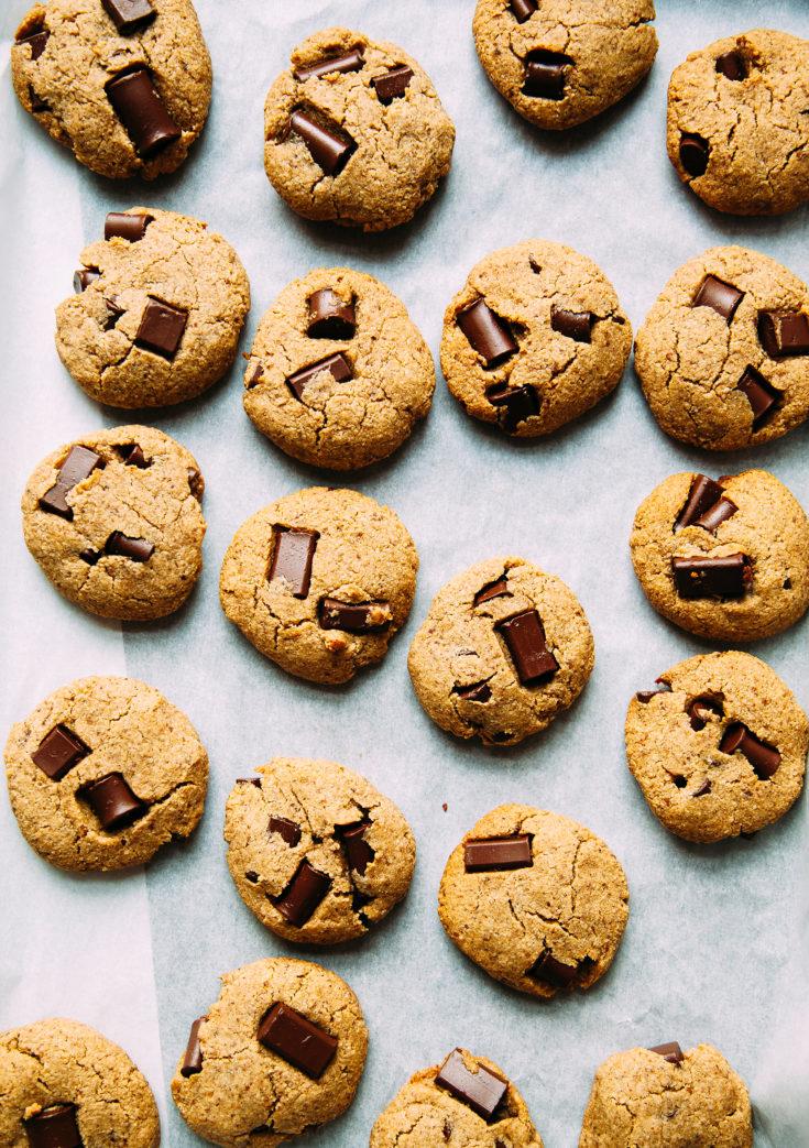 Wonder Cookies! Vegan, Grain-Free, and Date Sweetened Chocolate Chip Cookies