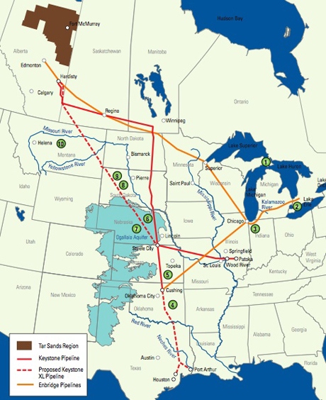 The Alberta Tar Sands, Keystone XL Pipeline: Game over for ...