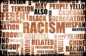 racism word cloud