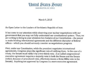 letter to iran