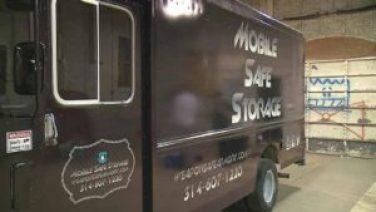 gun storage truck