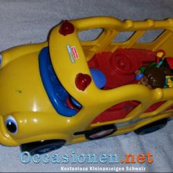 Little People Bus Schulbus Fisher Price 1