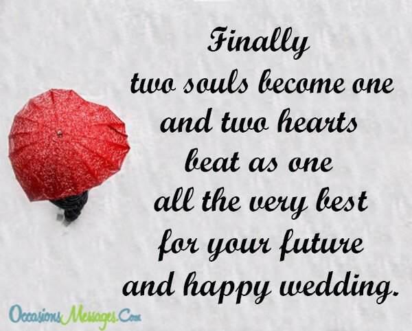 wedding wishes for a