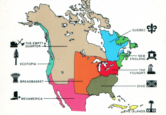The Nine Nations of North America Occidental Dissent