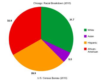 Chicago: Racial Breakdown (2010)