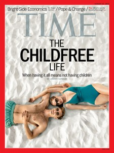 """Aging White liberal women wrestle with """"the childfree"""" life."""