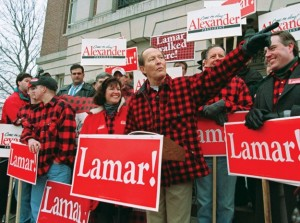 Sen. Lamar Alexander voted for amnesty and betrayed the White voters of Tennessee