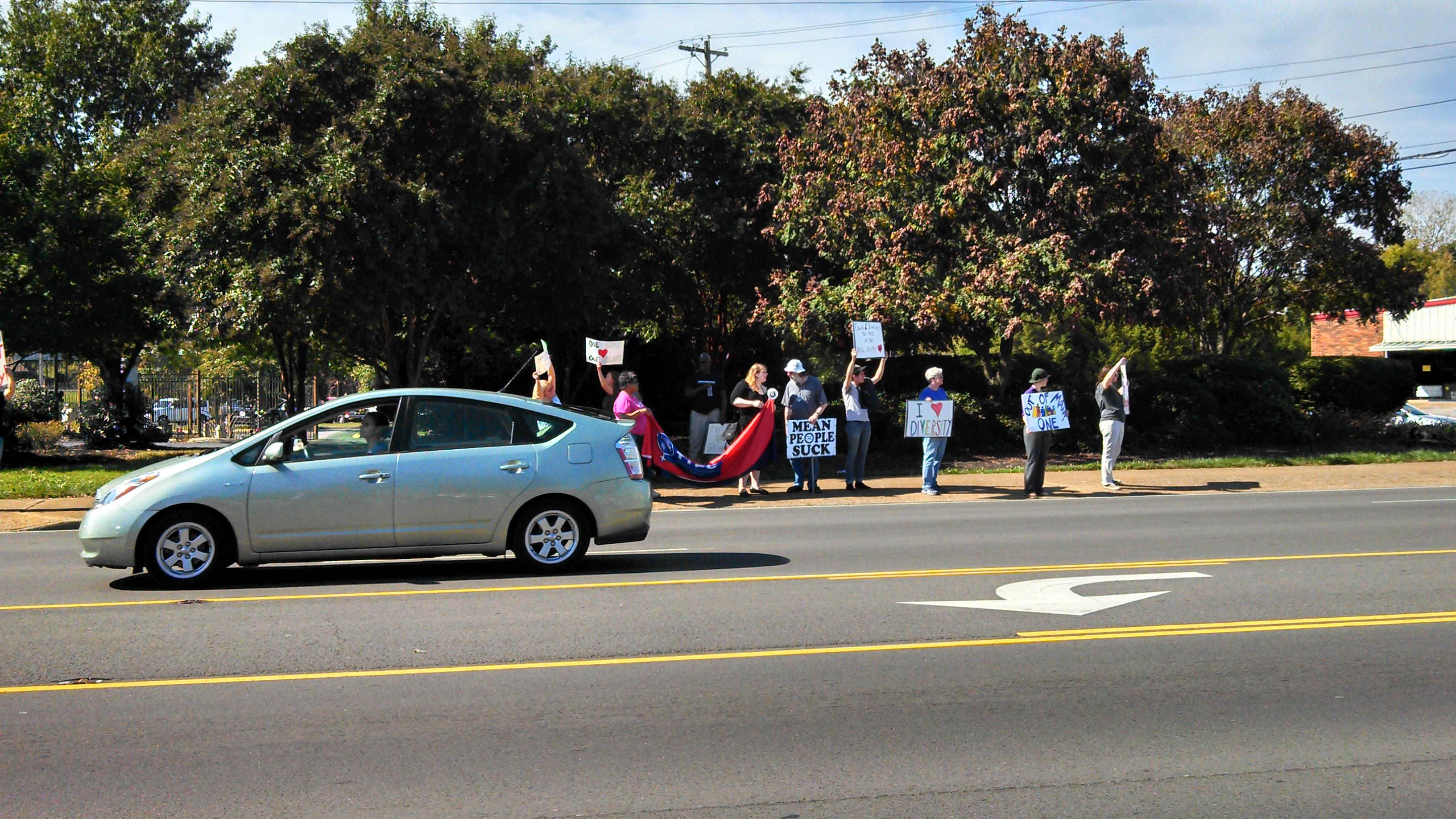 Murfreessboro Counter Protesters