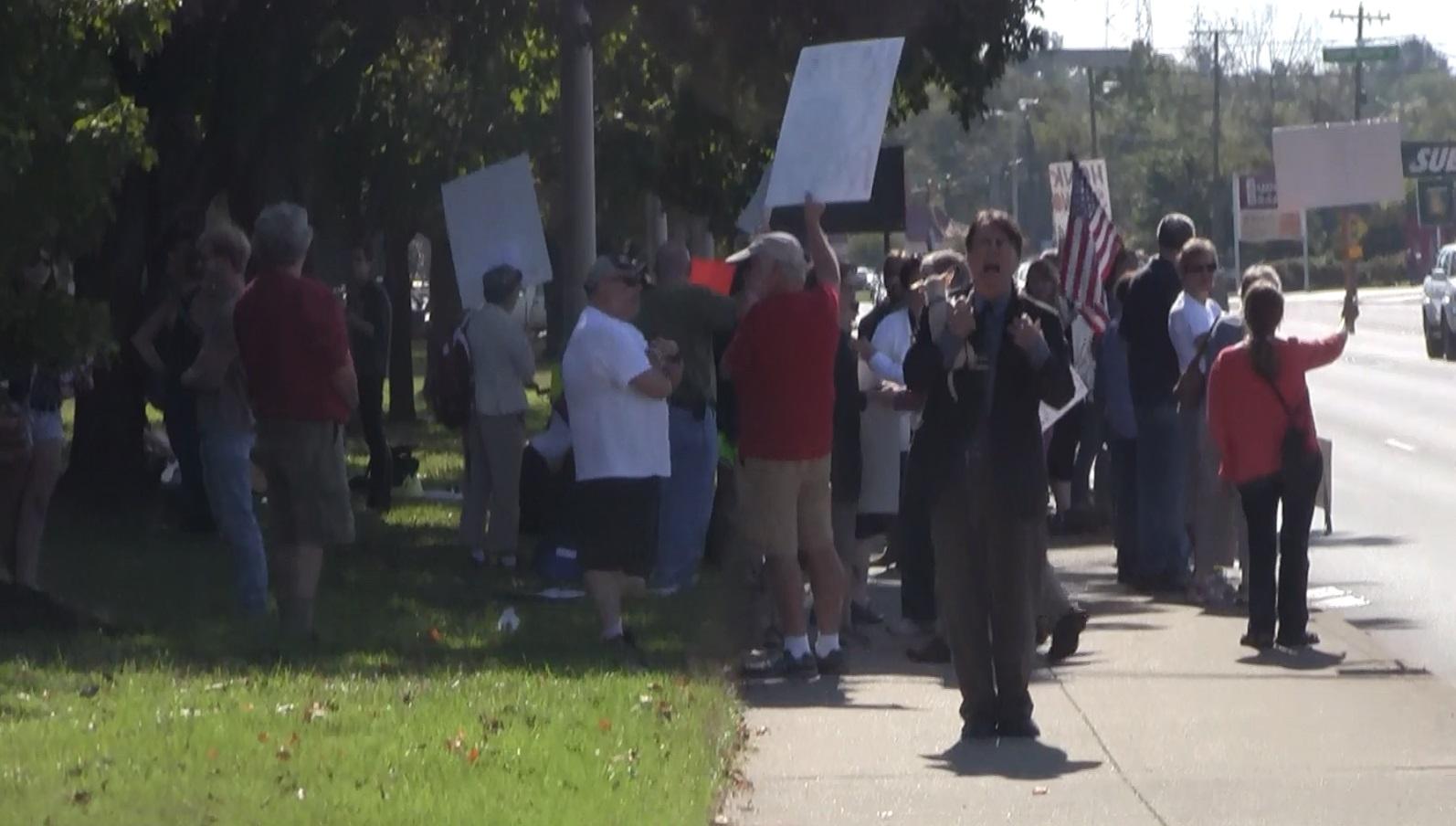 Murfreesboro Counter Protest