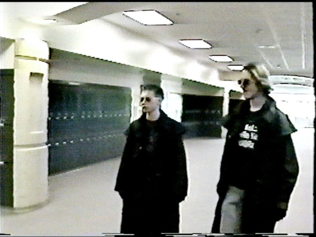 Eric Harris, left, and Dylan Klebold, the Trenchcoat Mafia, who shot up Columbine High School in 1999