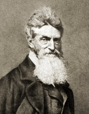 Abolitionist, terrorist, and mass murder John Brown incites the Civil War at Harper's Ferry in 1859