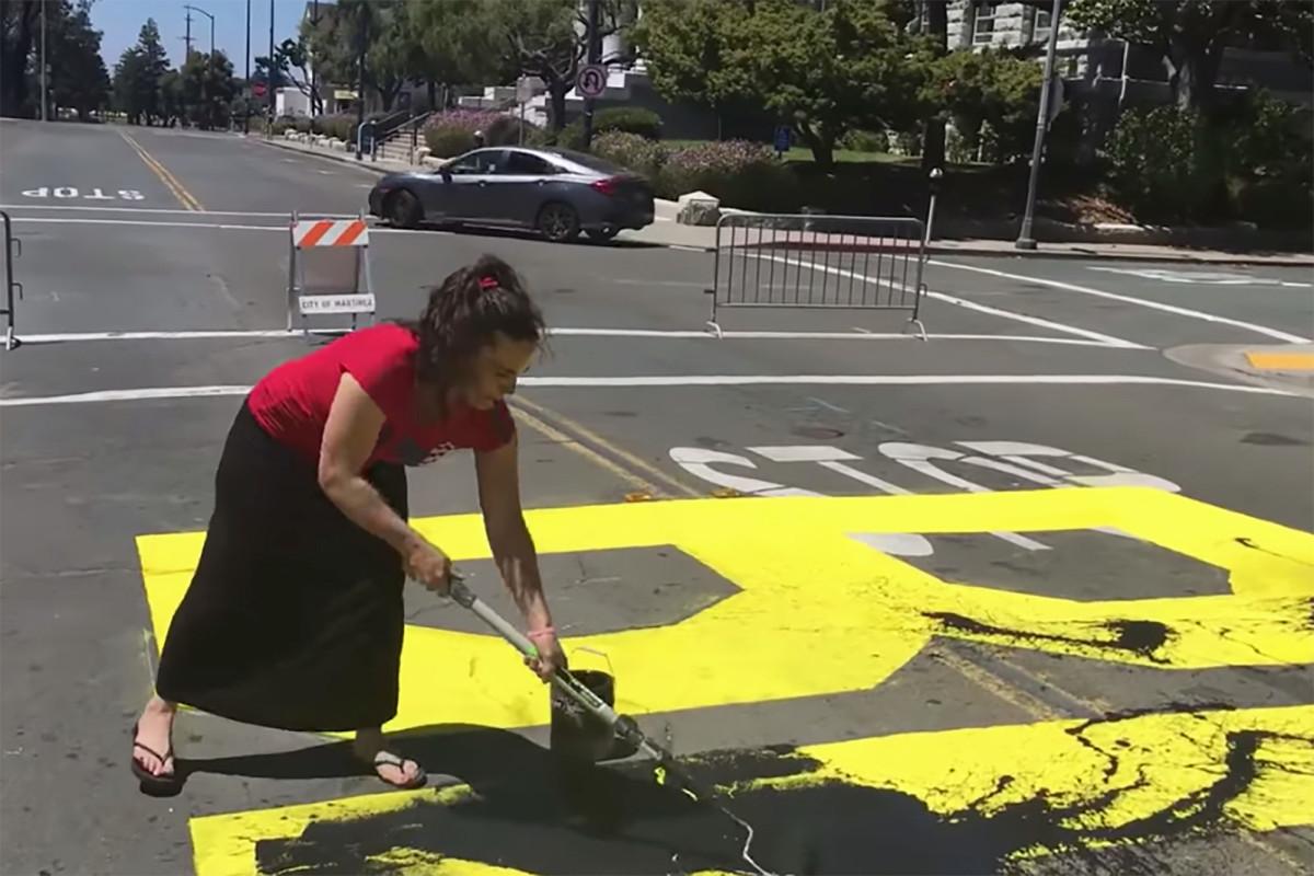 black-lives-matter-mural-defaced
