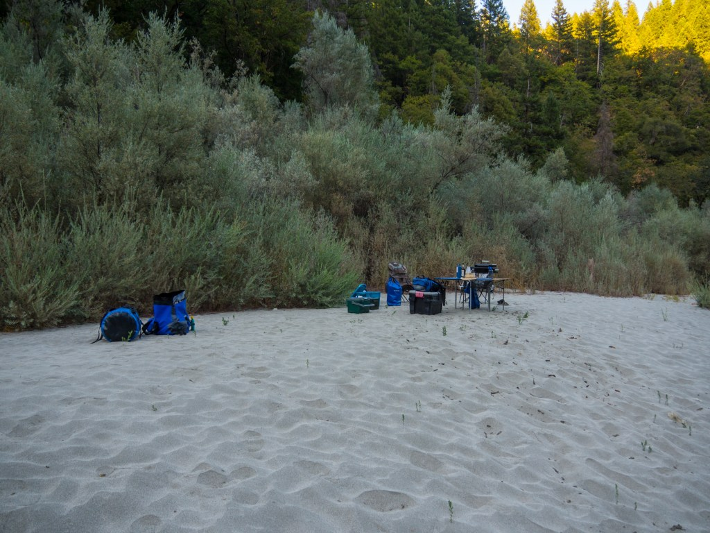White Sand of Grapevine Camp