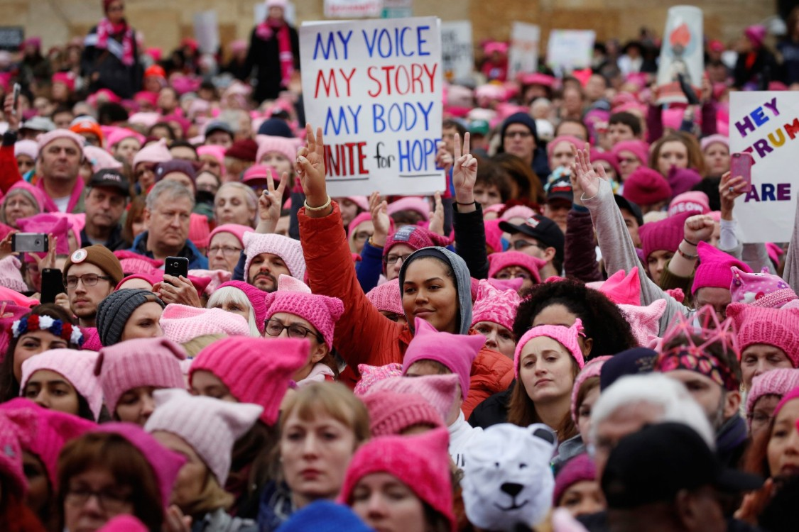 Image result for photos of people as part of us resistance v trump