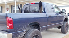 diesel exhaust stacks for dodge ford
