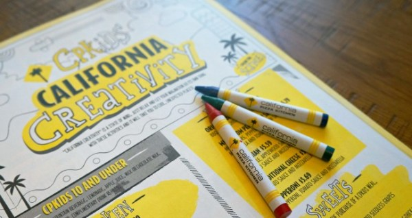 CPK kids menu