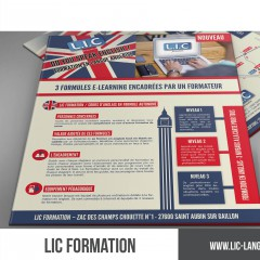LIC FORMATION – E-LEARNING – DÉCLINAISON DE DOCUMENT