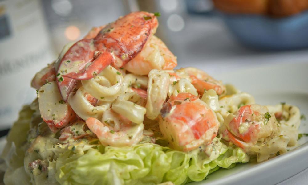 ocean 44 seafood salad