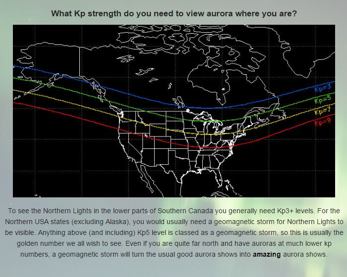 Northern Lights Bc Forecast