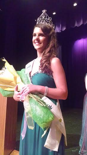 Danielle Kokx,  2014 National Asparagus Queen