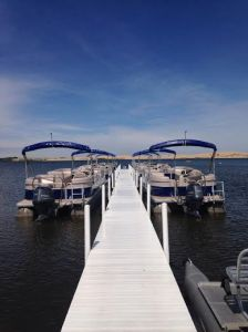 Wave Club Water Sport Rentals has a fleet of approximately 60 rental boats.