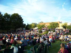 The Les Bailey Memorial Concert is set for Thursday evening on the Village Green, featuring the Pentwater Civic Band and the Scottville Clown Band.