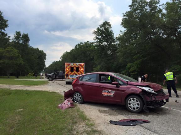 3-car crash