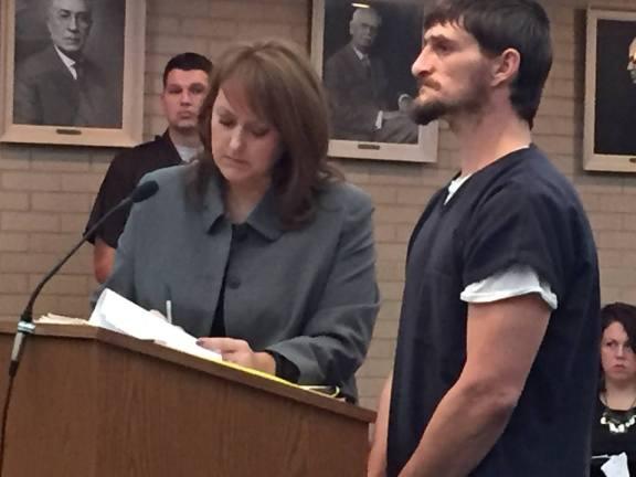 Ryan Lorenzen with his attorney, Julie Springstead Waltz.