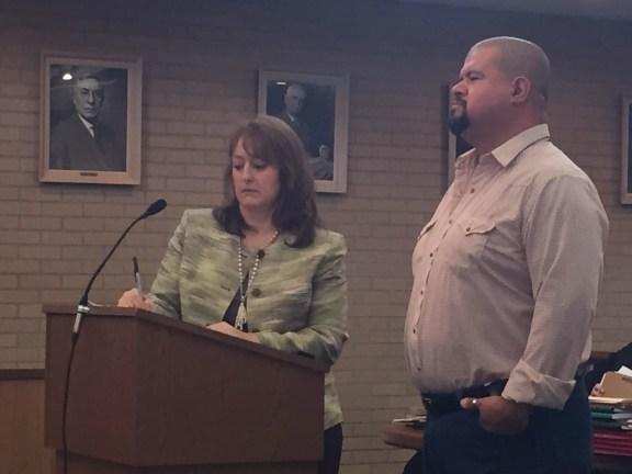 Juan Martinez with his attorney, Julie Springstead Waltz.