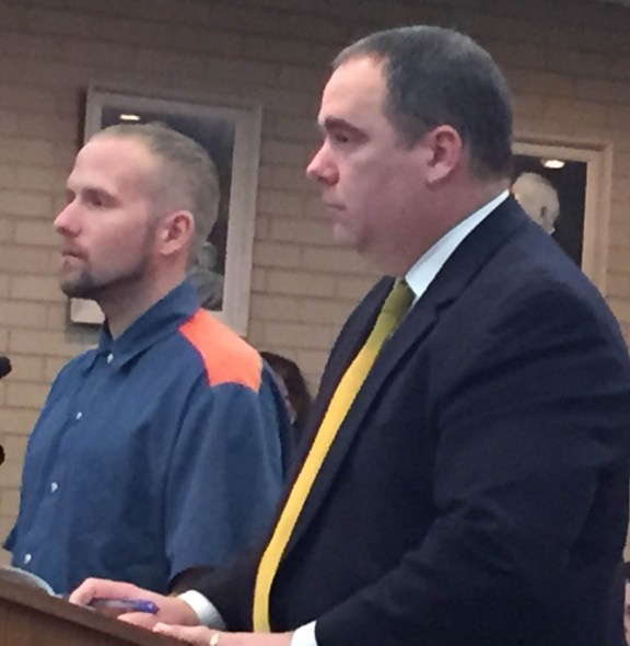 Jason Canavan with his attorney, Timothy Hayes.