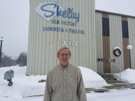 Shelby Gem Factory owner and founder Larry Kelley.