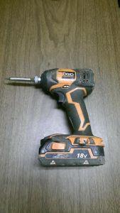 found cordless drill