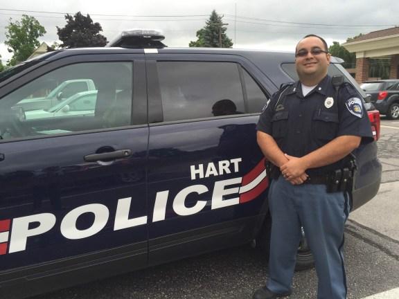 Hart Police Chief Juan Salazar
