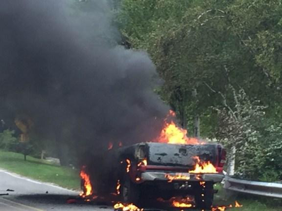 truck fire -1