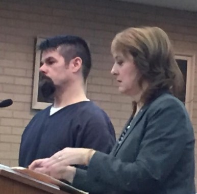 Cledis Montgomery with his attorney, Julie Springstead Waltz.