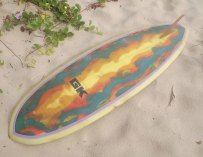 Classic graham King surfboard from late 60s early 70s