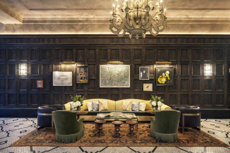 Beekman Hotel New York Lobby