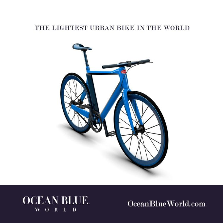 The Lightest Urban Bike in the World