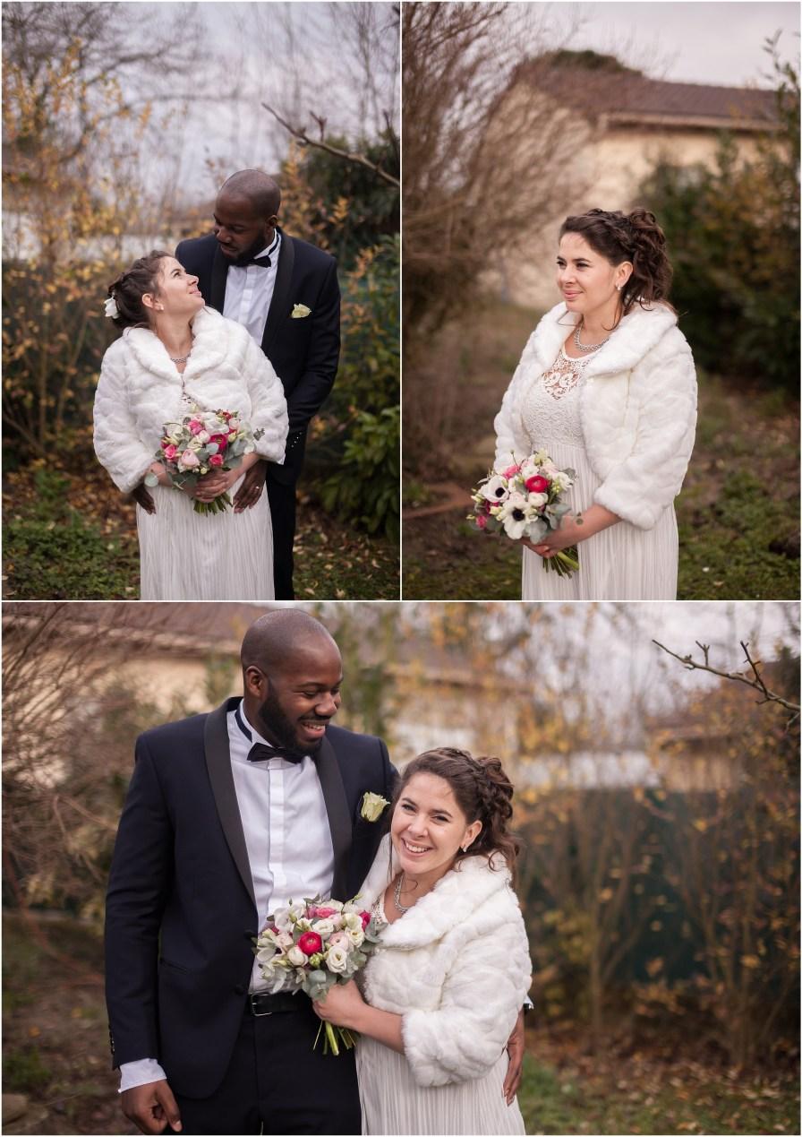 Photographe Océane Drollat, Chemin commun en famille, Mariage en hiver, Couple, Région Parisienne
