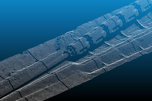 Surveying and Mapping - AUV Laser Pipeline Inspection Data