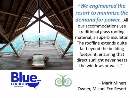 Misool Eco Resort Gives Energy Saving Tips