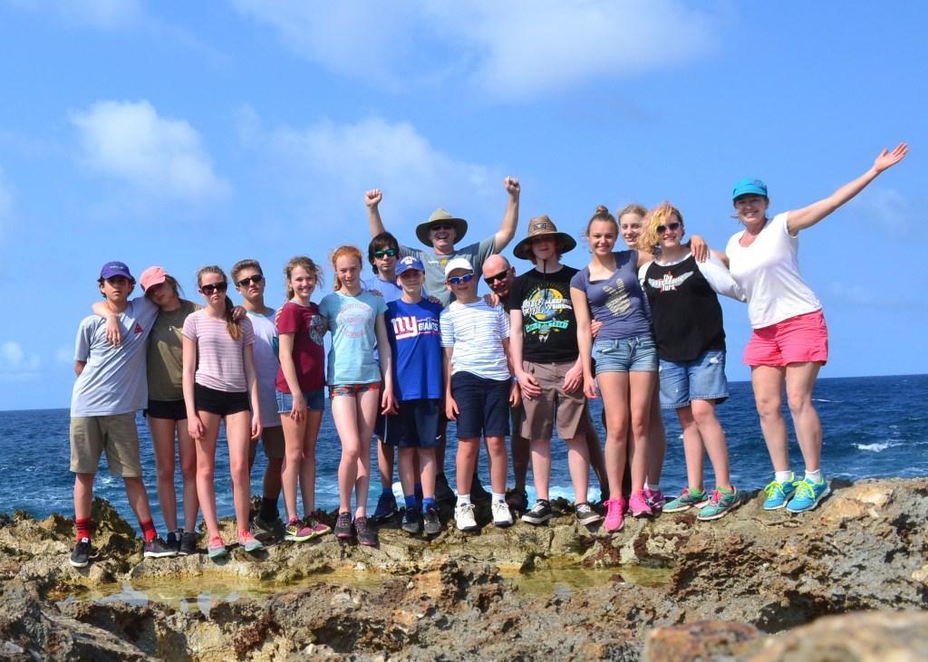Young Explorers in Bonaire