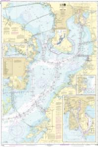 OceanGrafix  NOAA Nautical Chart 11416 Tampa BaySafety