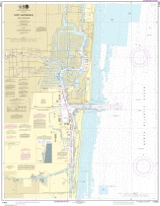 OceanGrafix  NOAA Nautical Chart 11470 Fort Lauderdale